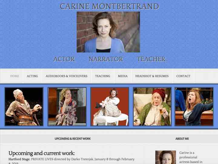 Carine Montbertrand