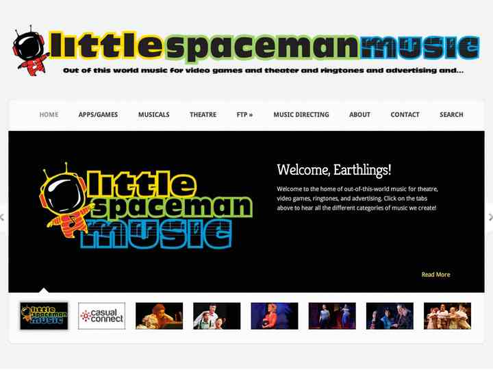 little spaceman music